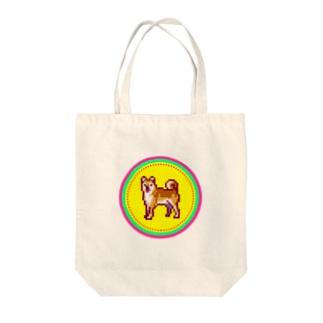ピクセルアート-柴犬 トートバッグ