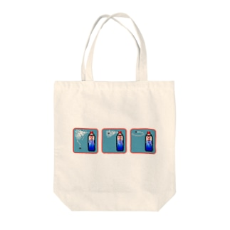 ピクセルアート-殺虫剤3コマ Tote bags