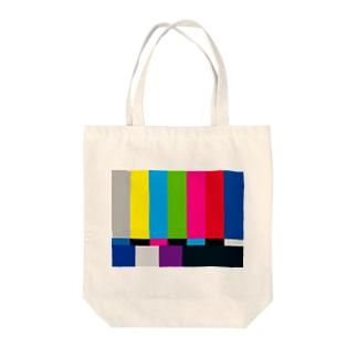 カラーバー Tote bags