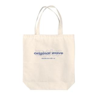 original wave Tote bags