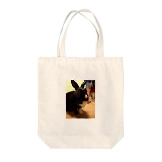 ラブリー胡桃 Tote bags