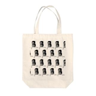 走る悲観 Tote bags