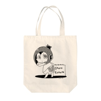 いちごのたび Tote bags