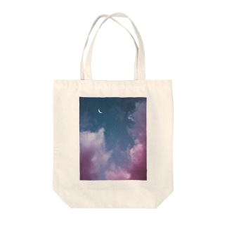 good night Tote bags
