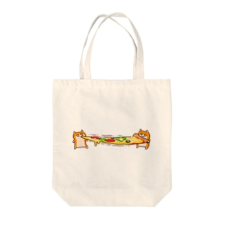 ピザビヨーンクソハム Tote bags