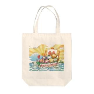 エコペン七福神 Tote bags