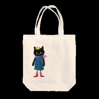 COULEUR PECOE(クルールペコ)  のねこびとさん(Pippi) Tote bags