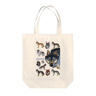 WOLFDOGS Tote bags