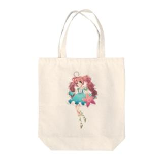 渚の妖精ぎばさちゃん Tote bags