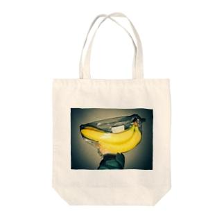 HI・TO・RIの大きなバナナ Tote bags