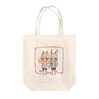 ズッ友 Tote bags