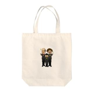 リスニングテラー Tote bags
