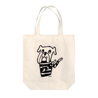 うながしスマートブルちゃん Tote bags