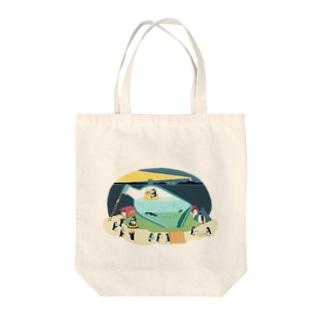 ペンギン18 Tote bags