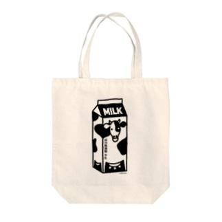 牛乳パック01 Tote bags