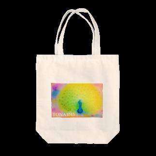 TONA1045の孔雀 Tote bags