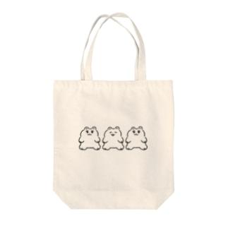 ぽかくま Tote bags