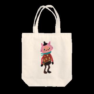 COULEUR PECOE(クルールペコ)  のねこびとさん(Sakura) Tote bags
