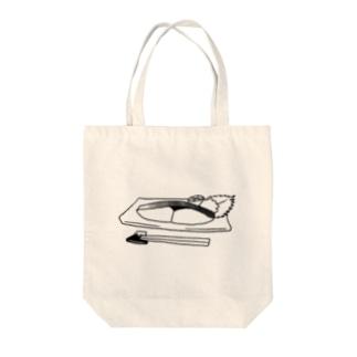 鰆(さわら)の塩焼き Tote bags
