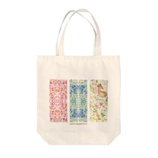 春から初夏へのたより Tote bags