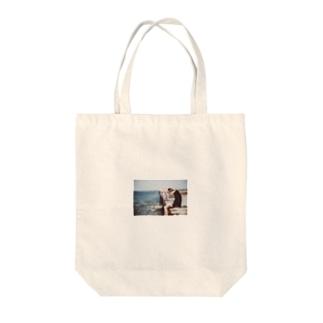 seaside Tote bags