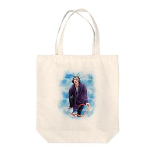 すずき(Sky柄) Tote bags