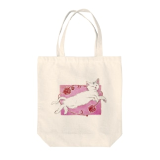 knit(猫の絵ブログ) Tote bags