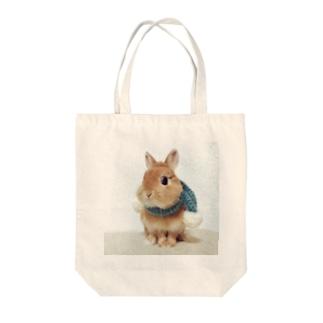 冬のニコタロ Tote bags