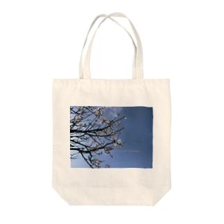 光景 sight738 梅  花 FLOWERS Tote bags