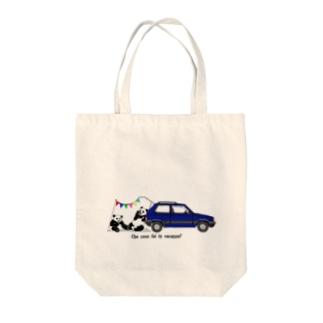 イタリアの車が好き1★ Tote bags