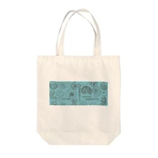 北海道産アンモナイト8 Tote bags