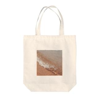 なつ、うみ Tote bags