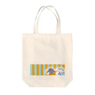 アリクイシスターズ Tote bags