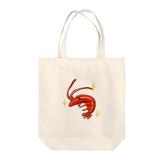 メタルエビ Tote bags