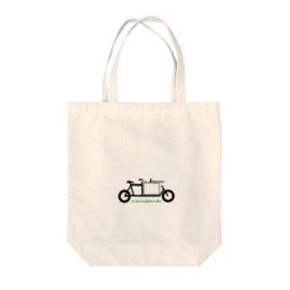 a Jitensya Tote bags