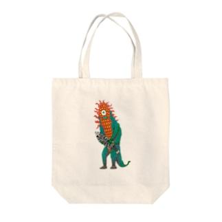 ムベンべ・サピエンス Tote bags