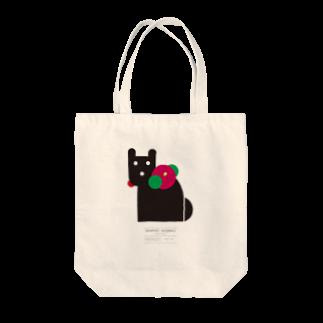グラフィックアニマルズのabehina model Tote bags