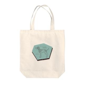 moe model Tote bags