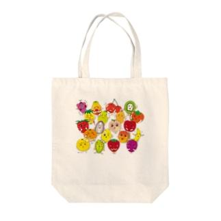 フルーツALL-fruits and vegetables word chain-ベジフルしりとり-  Tote bags