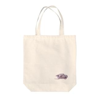 snake:TATHUYA Tote bags