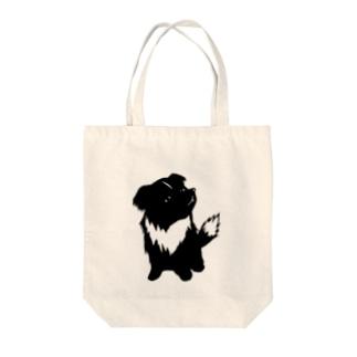 【nina&bart】素バート Tote bags