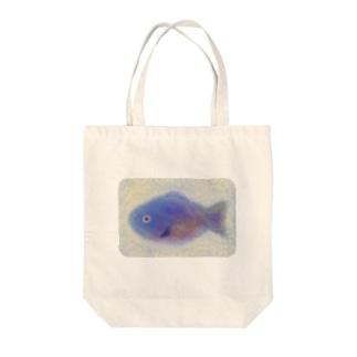 魚類ちゃん Tote bags
