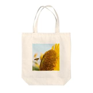 夏っぽいハチ Tote bags