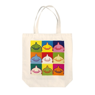 しまばらん(カラフル) Tote bags
