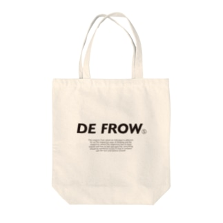 DEFROW  Tote bags