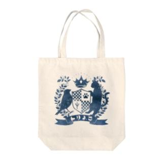 トリネコエンブレム(青) Tote bags