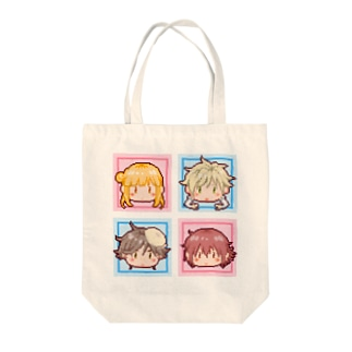 BUGきゃらドット絵風 Tote bags