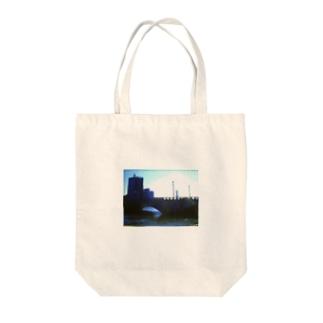 万代橋 Tote bags