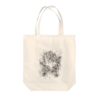 night sky Tote bags
