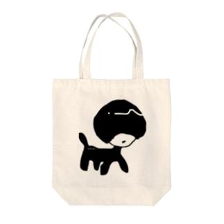 あるきのこ Tote bags